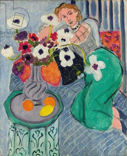 Odalisque, Blue Harmony, 1937 (oil on canvas)
