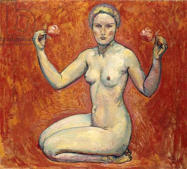 The Truth; Die wahrheit, 1913 (oil on canvas)