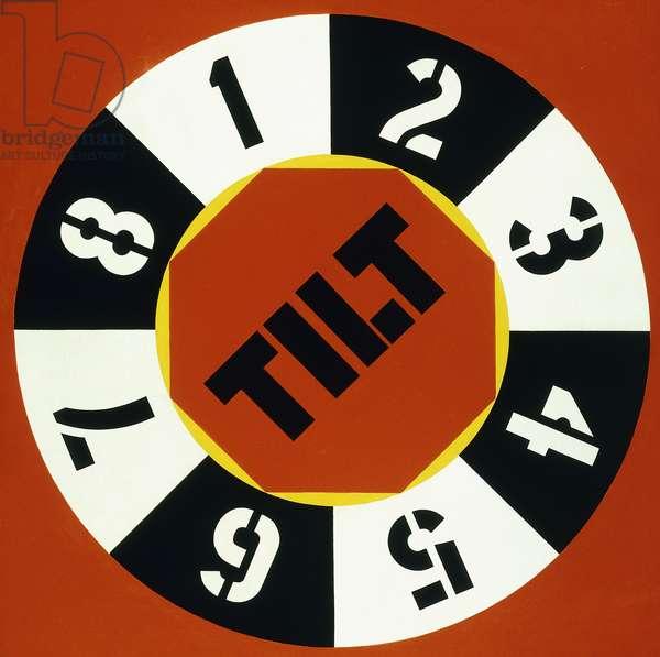 Tilt, 1962 (oil on canvas)