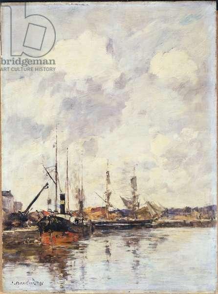 The Basin, 1891 (oil on panel)