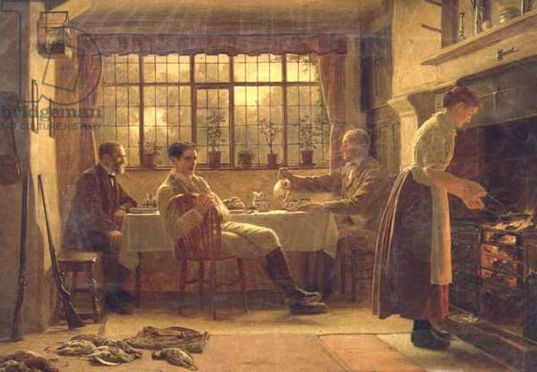 The First of September, 1886 (oil on canvas)