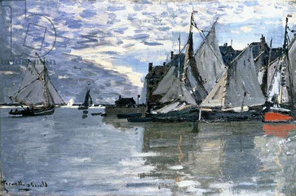 Sailing Boats, c.1864-1866 (oil on canvas)