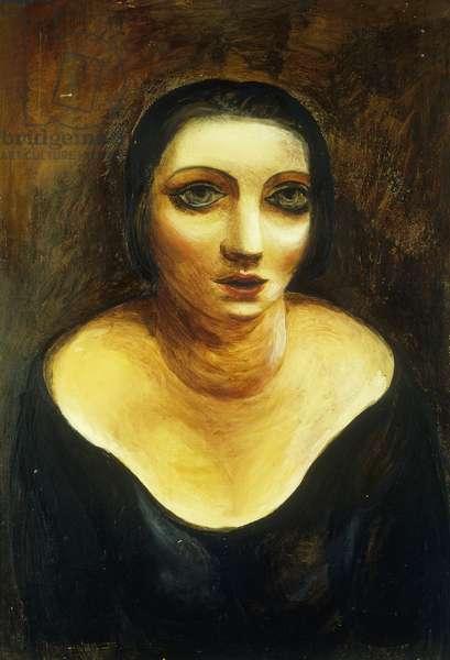 Kiki au Decolete, 1918 (oil on canvas)