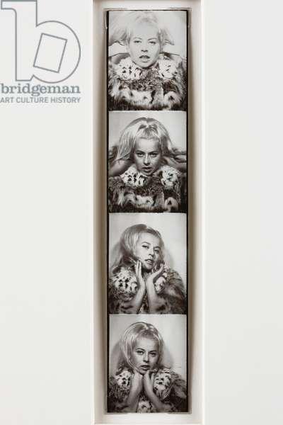 Untitled, 1960 (gelatin silver photobooth strip)