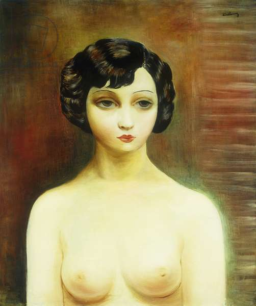 Bust of a Young Woman; Buste de Jeune Femme, 1938 (oil on canvas)