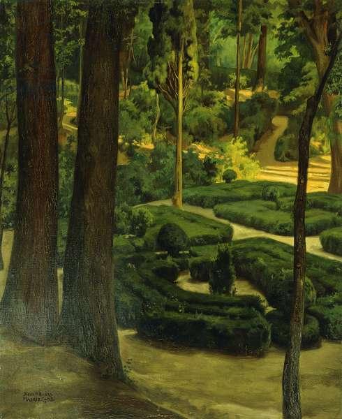 Garden Interior, 1908 (oil on canvas)