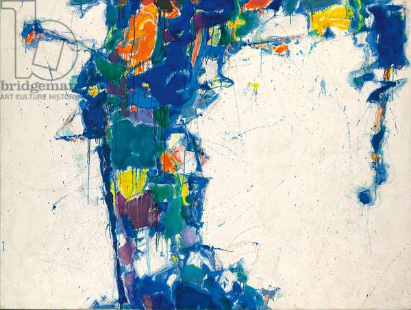 Middle Blue, 1957 (oil on canvas)