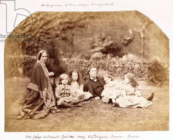 Portrait of the MacDonald Family with Lewis Carroll, 1863 (albumen print)