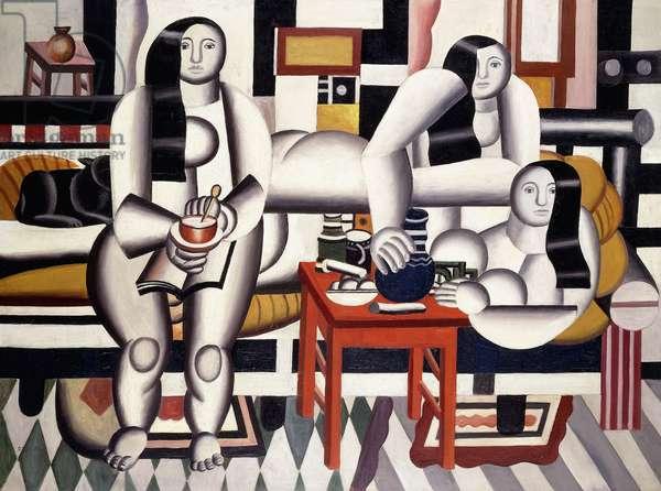 The Breakfast; Le Petit Dejeuner, 1921 (oil on canvas)