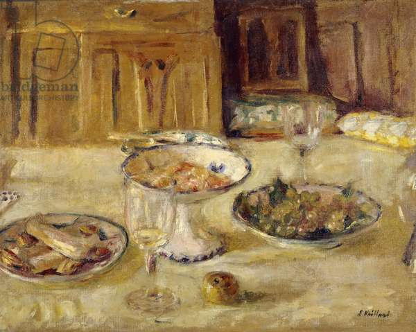 Biscuits and Fruit Compote; Compotier de Biscuits et Fruits, c. 1922 (oil on canvas)