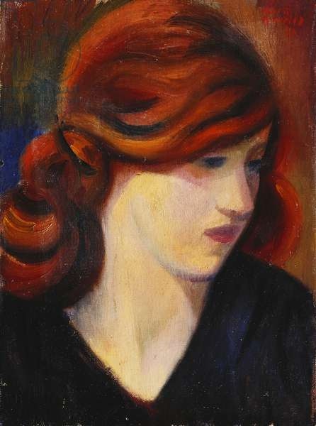 Portrait of a Young Girl, 1931 (oil on canvas)