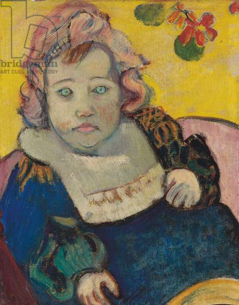 Child with Bib or The Baby; Enfant au bavoir, 1895 (oil on canvas)
