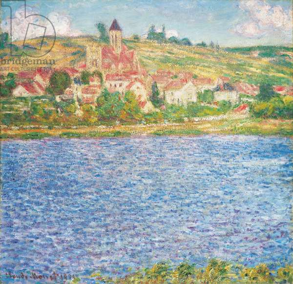 Vetheuil, Afternoon, 1901 (oil on canvas)