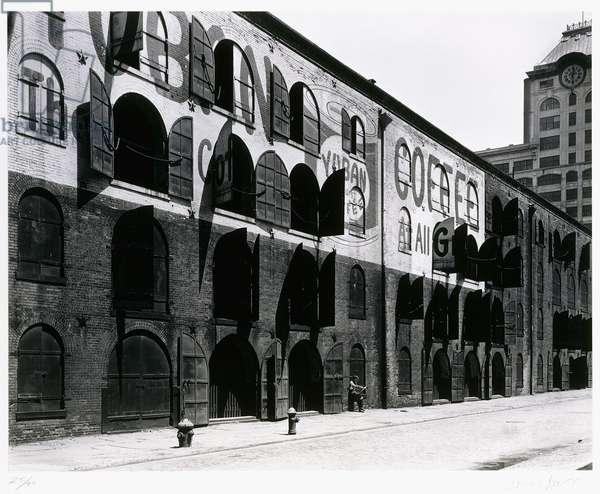 Yuban Warehouse, 1936; 1982 (gelatin silver print)