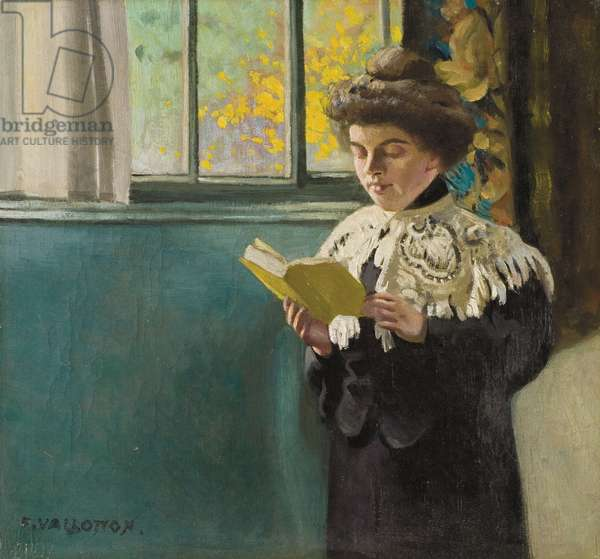 Woman Reading by a Window, c.1904 (oil on canvas)