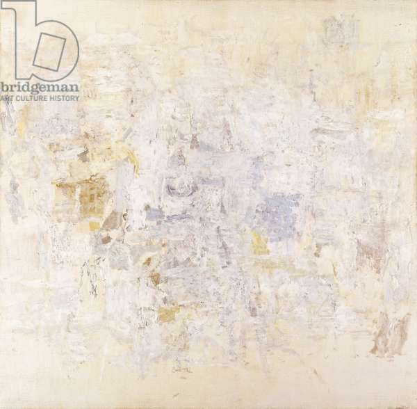 White Painting II, 1951 (oil on canvas)