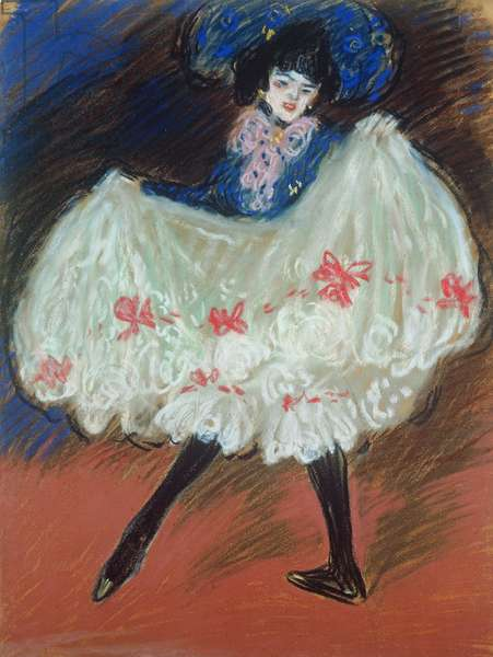 The Dancer (Cancan) 1901 (pastel on paper)