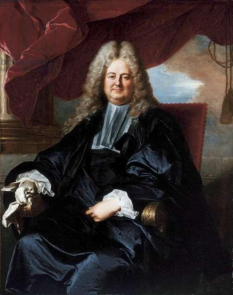 Portrait of Barthélémy Jean-Claude Pupil (oil on canvas)