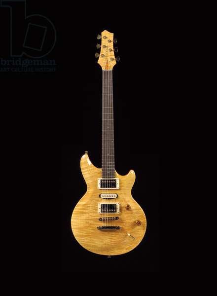 Terry C. McInturff guitar, 1998 (mahogany, rosewood & gold)