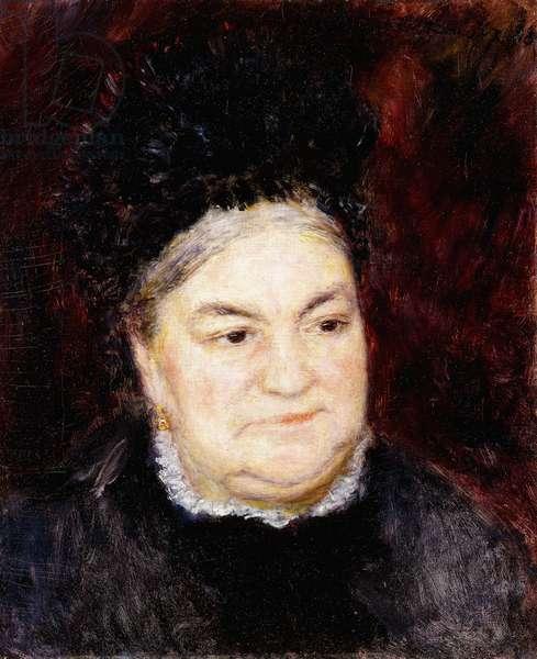 Portrait of Old Woman (Madame Le Coeur); Portrait de Vieille Femme (Madame Le Coeur), 1878 (oil on canvas)