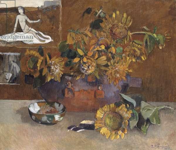Still Life with l'Esperance, 1901 (oil on canvas)