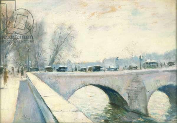 Pont Royal, Paris, Winter