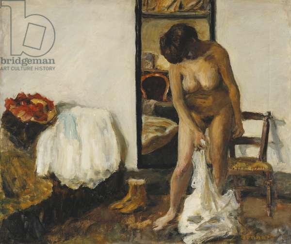 Woman Undressing; Femme se Deshabillant, 1905 (oil on canvas)