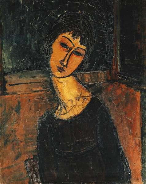 Jeanne Hebuterne, c.1916-17 (oil on canvas)