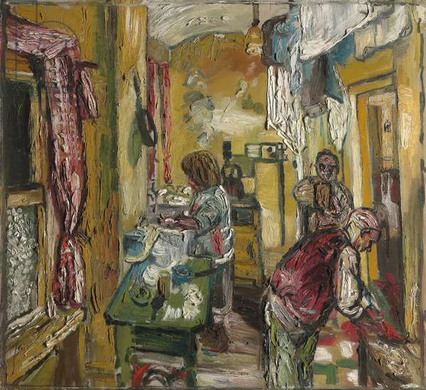 Kitchen Interior, Carlyle, 1954-55 (oil on canvas)