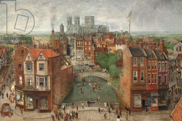 York Festival Triptych (oil on canvas)