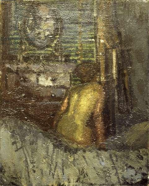 Nude (oil on canvas)