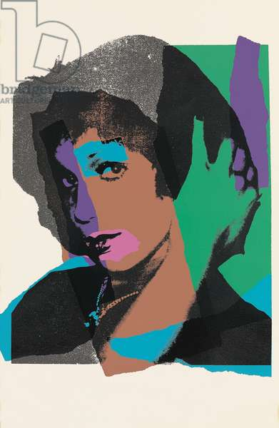 Ladies and Gentlemen (Monique) (F. & S. II.128-137), 1975 (screenprint)