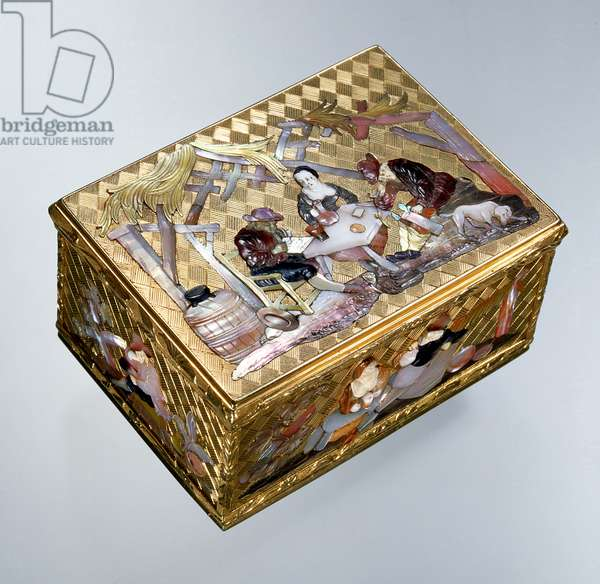 Gold box from the Rothschild Collection