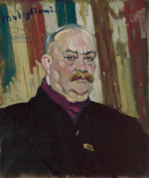 Portrait de Joseph Levi, c.1909 (oil on canvas)