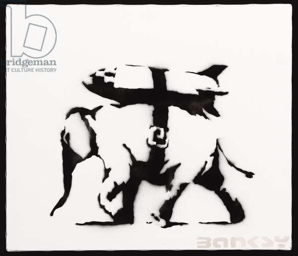 Heavy Weaponry, 2002 (acrylic and spray enamel on canvas)