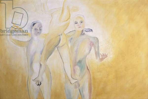 Roots; Radici, 1982 (fresco)