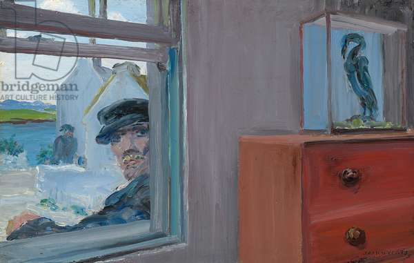 Sailor Home from the Sea, 1924 (oil on panel)