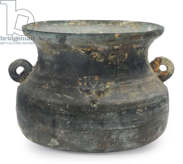 Large cauldron, Late Eastern Zhou, 5th-3rd century BC (bronze)