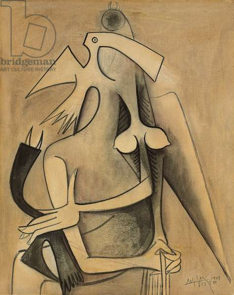 Untitled, 1946-7 (oil on canvas)