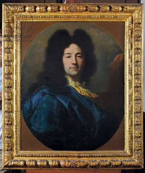 Self-portrait, called The Blue Coat, 1696 (oil on canvas)