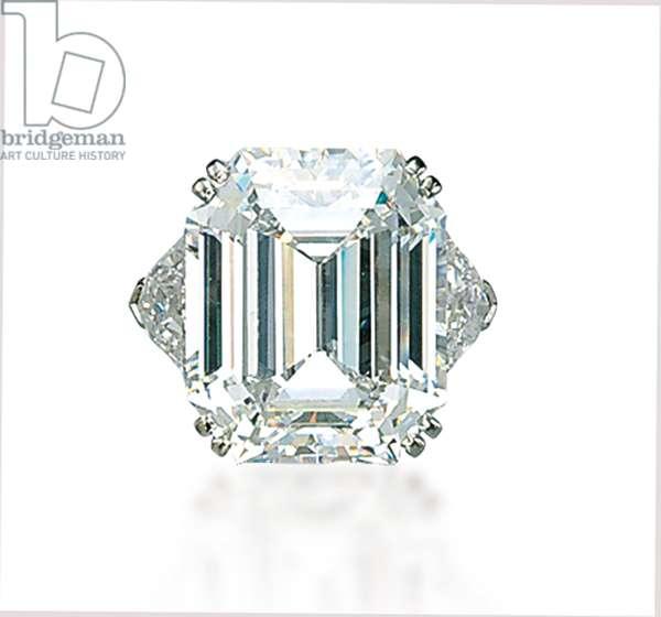 Ring (diamond & platinum) (see also 492446-47)