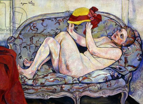 Nude Reaching on a Sofa; Nu Allonge sur un Canape, 1928 (oil on canvas)