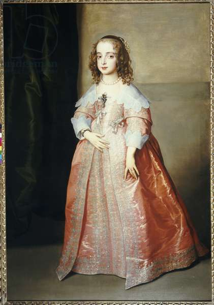 Portrait of Mary, Princess Royal, c.1641 (oil on canvas)