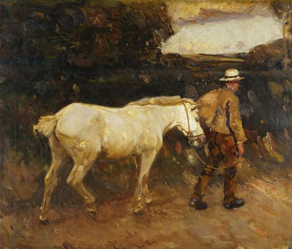 The Lane, 1909, 1909 (oil on canvas)