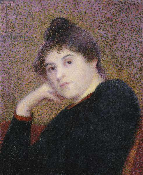 Portrait of a Woman, 1892 (oil on canvas)