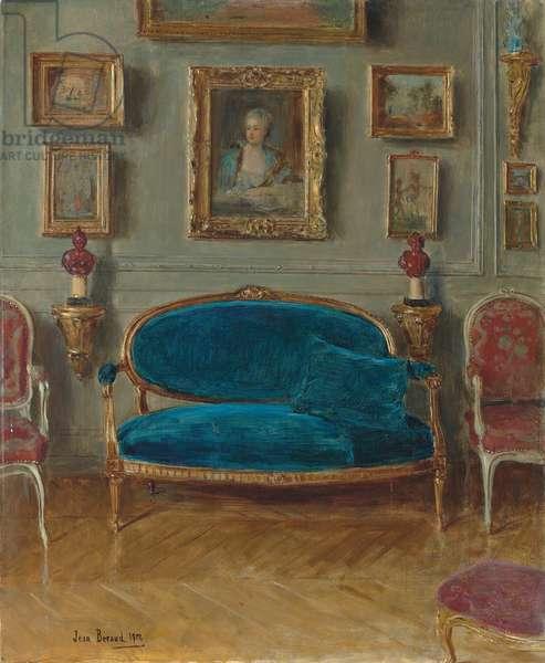 Le canapé bleu, 1912 (oil on canvas)