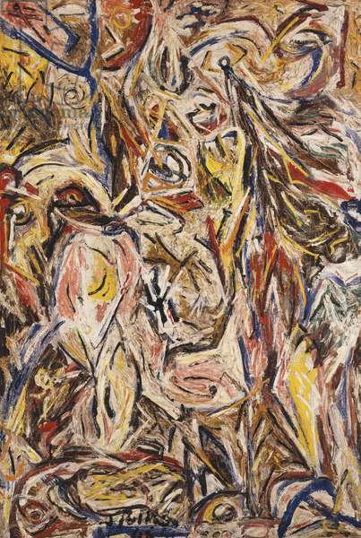 Something of the Past, 1946 (oil on canvas)