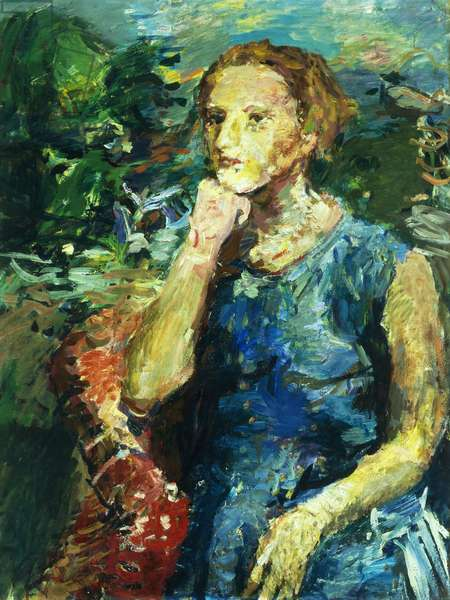 Portrait of Annie Knize, 1934-35 (oil on canvas)