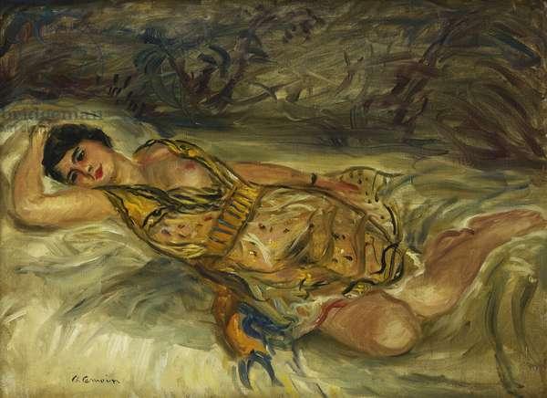 The Brunette with the Bare Breast; La Brune au Sein Nu, 1931 (oil on canvas)