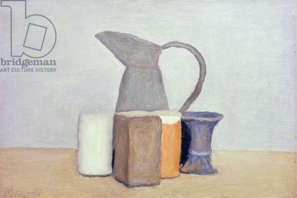 Still Life; Natura Morta, 1960 (oil on canvas)